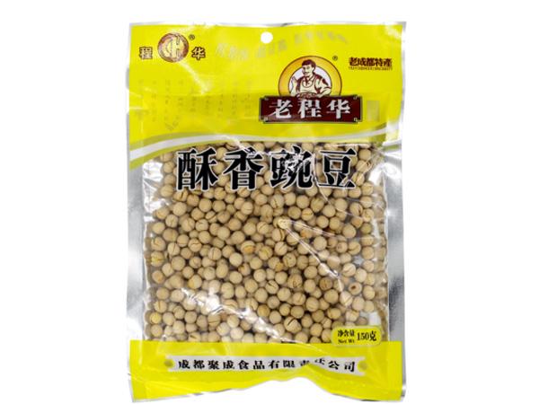 老程华酥香豌豆...