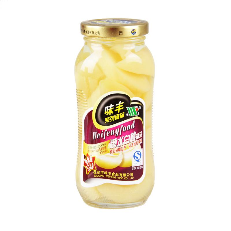 味丰糖水白桃罐...