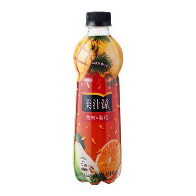 美汁源热带果粒...