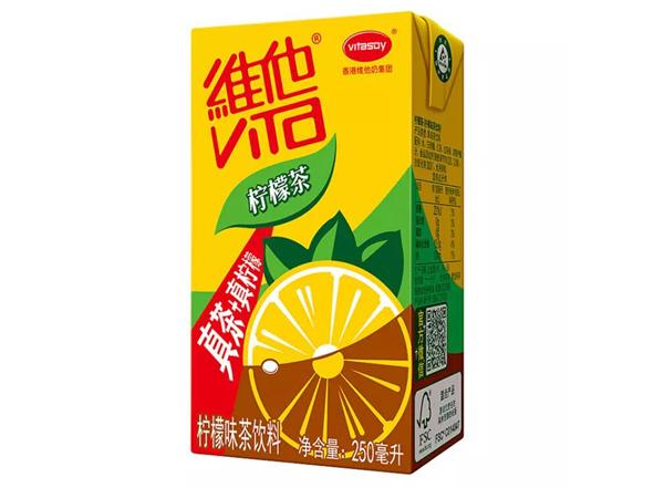 维他柠檬茶饮料...
